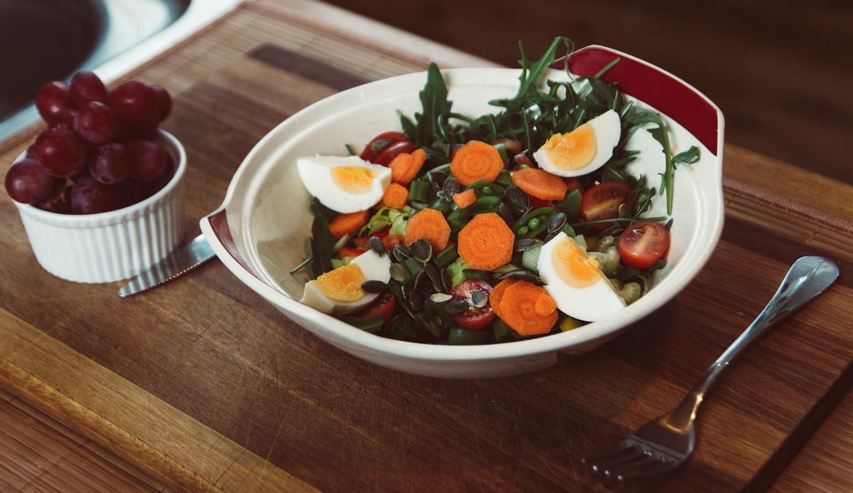 Recetas saludables para una comida de primavera
