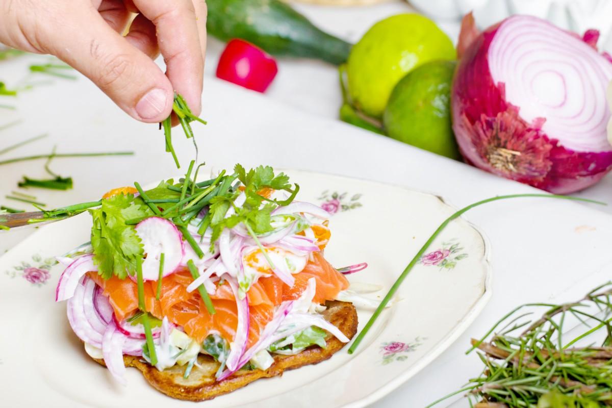 Recetas saludables para una cena de primavera