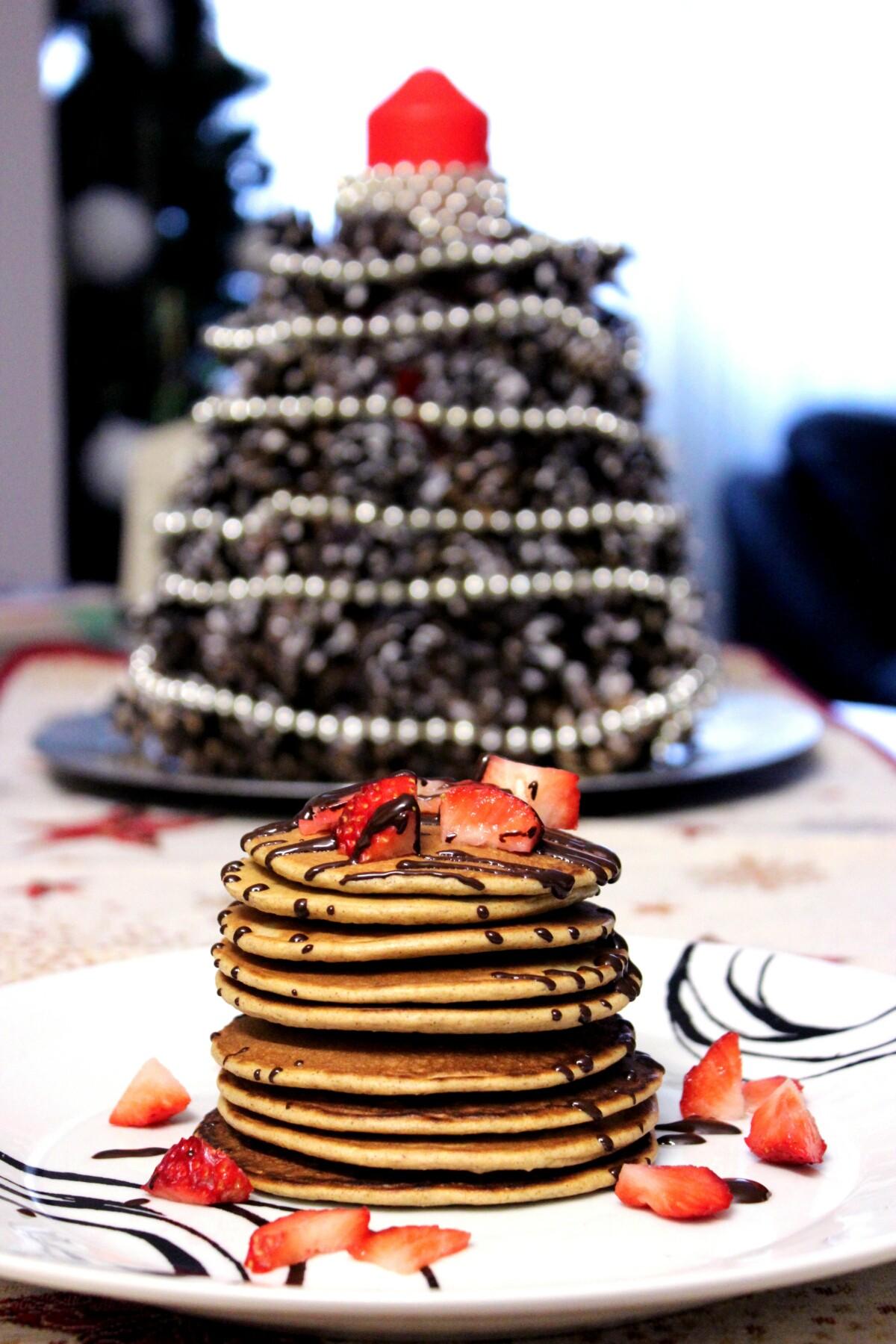 Pancakes recetas navideñas