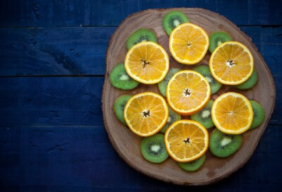 Compota kiwi y naranja